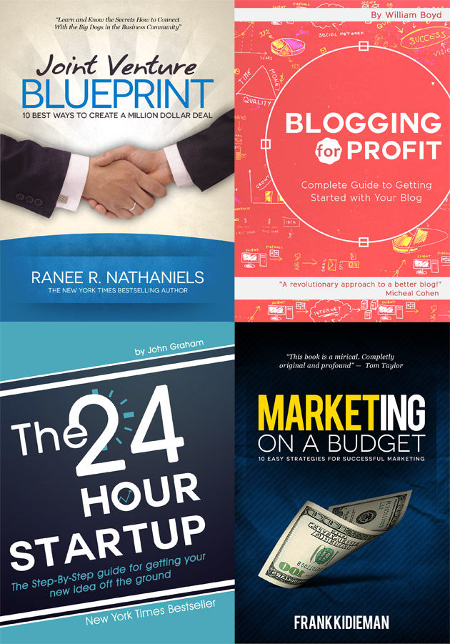 4 Book Cover Template Examples